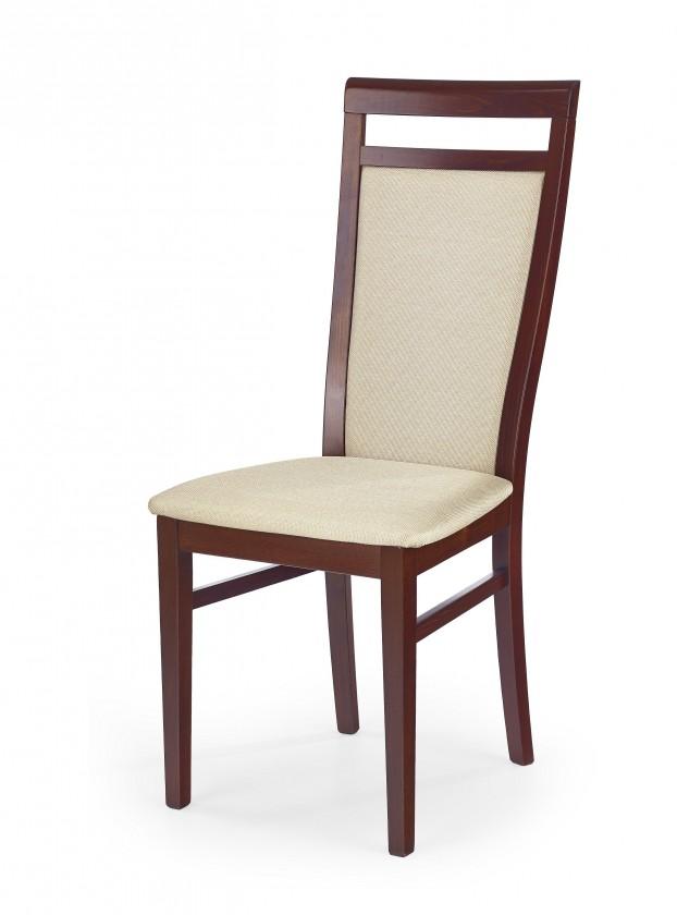 Stolička Damian - Jedálenská stolička (béžová, čerešňa)