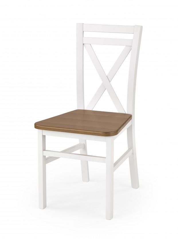 Stolička Dariusz 2 - Jedálenská stolička (biela, jelša)