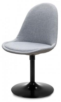 Stolička Donna 9363-213+TRUMPET 9341-824 (šedá,čierna)