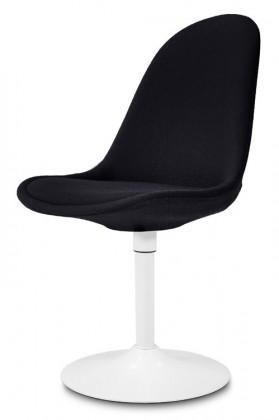 Stolička Donna 9363-224+TRUMPET 9341-801 (čierna,biela)