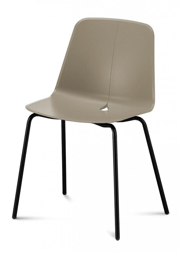 Stolička Dot-M - Jedálenská stolička (čierna, piesková)