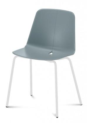 Stolička Dot-M - jedálenská stolička (nohy - biela)