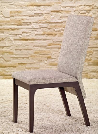 Stolička Fabrizio - Jedálenská stolička (wenge/sivá)