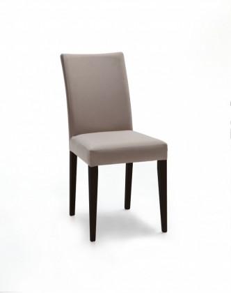 Stolička Fernanda (čierna / eko kože vienna svetle hnedá)