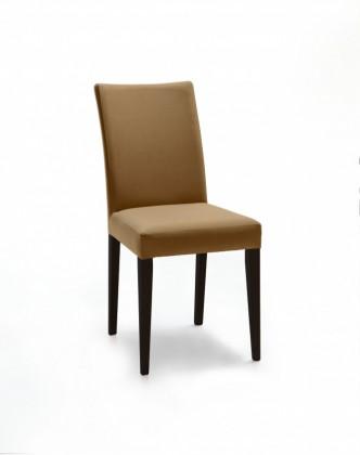 Stolička Fernanda (čierna / látka antara béžová)