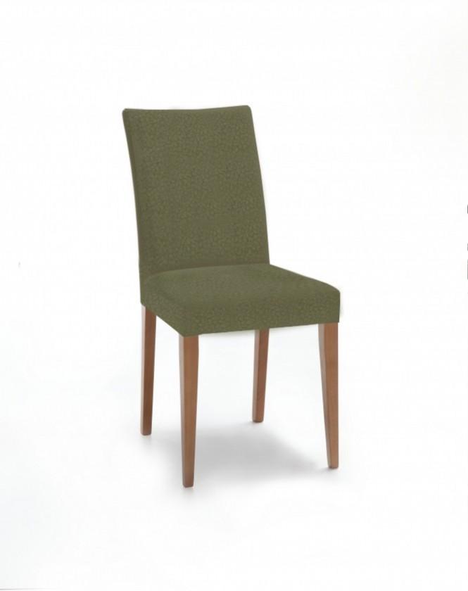Stolička Fernanda (dub / látka carabu zelená)