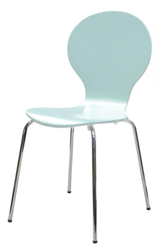 Stolička Flower - Jedálenská stolička (morská zelen)
