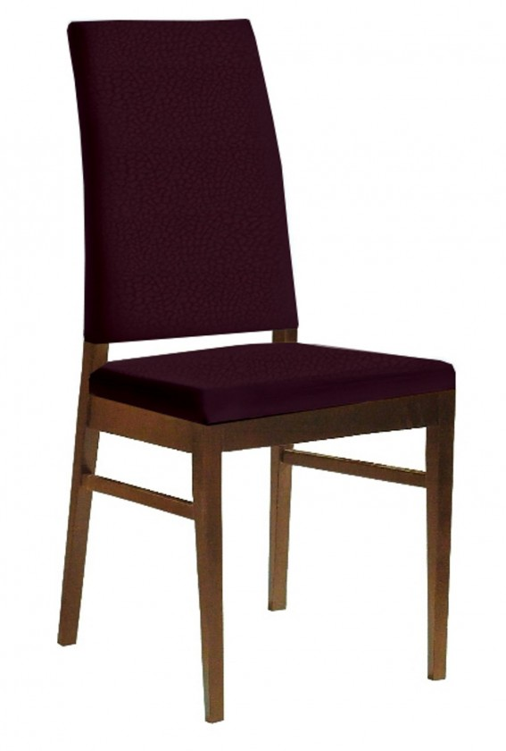 Stolička Genosa  (jaseň/carabu fialová)