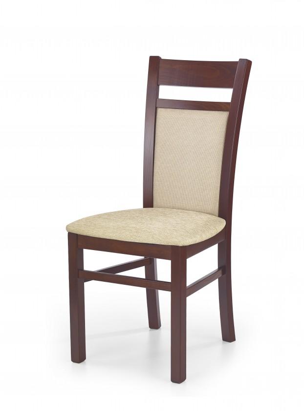 Stolička Gerard 2 - Jedálenská stolička (béžová, čerešňa)