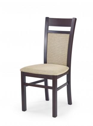 Stolička Gerard 2 - Jedálenská stolička (béžová, orech)