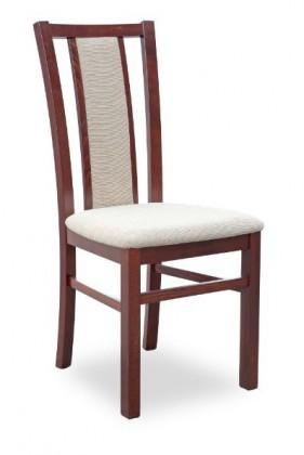 Stolička Gerard 8  (béžová torent beige, orech tmavý)