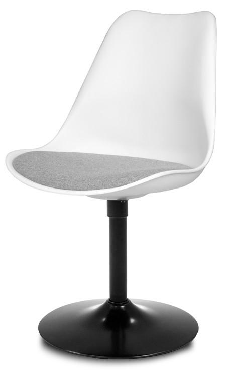 Stolička GINA 9361-413+TRUMPET 9341-824 (biela,šedá,čierna)
