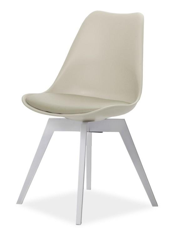 Stolička GINA 9361-883+BESS 9347-001 (béžová,biela)