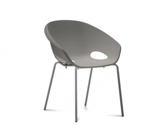 Stolička Globe - Jedálenská stolička (lak pieskový, piesková)