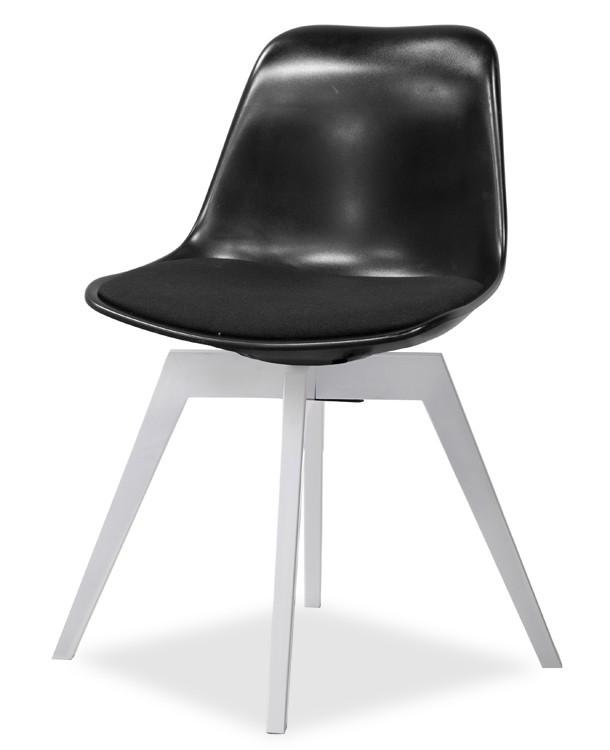 Stolička GRACE 9360-124+BESS 9347-001 (čierna,biela)
