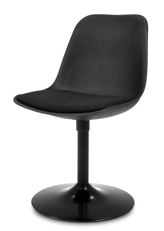 Stolička GRACE 9360-124+TRUMPET 9341-824 (čierna,čierna)