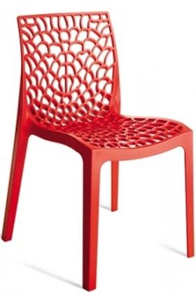 Stolička Gruvyer (červená)
