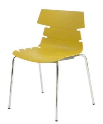 Stolička Holly(kari, plast/chróm)