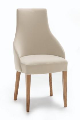 Stolička Isabela (dub/látka carabu šedobéžová)