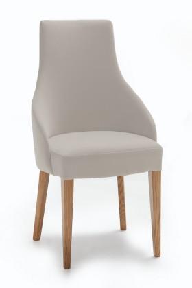 Stolička Isabela (dub/látka navara svetlo béžová)
