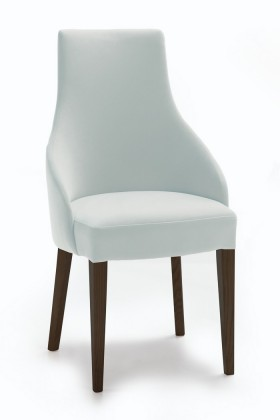 Stolička Isabela (wenge/eko kože vienna sivá)