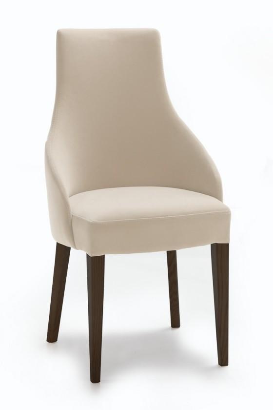Stolička Isabela (wenge/látka antara svetle hnedá)
