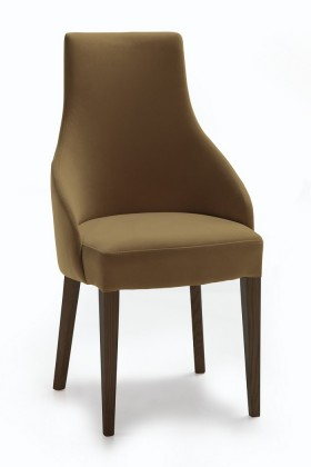 Stolička Isabela (wenge/látka carabu hnedá)