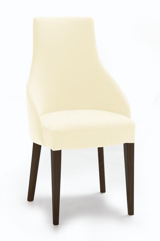 Stolička Isabela (wenge/látka carabu svetlo béžová)
