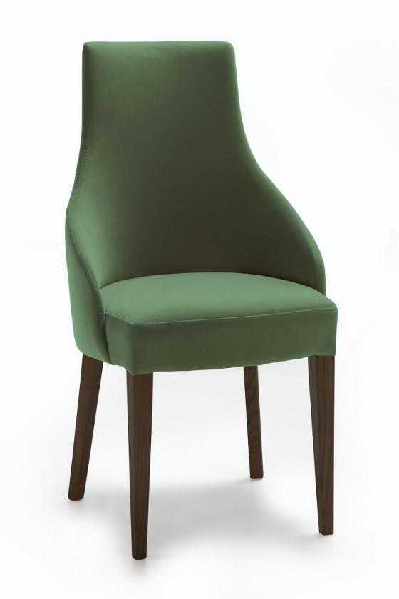 Stolička Isabela (wenge/látka carabu zelená)