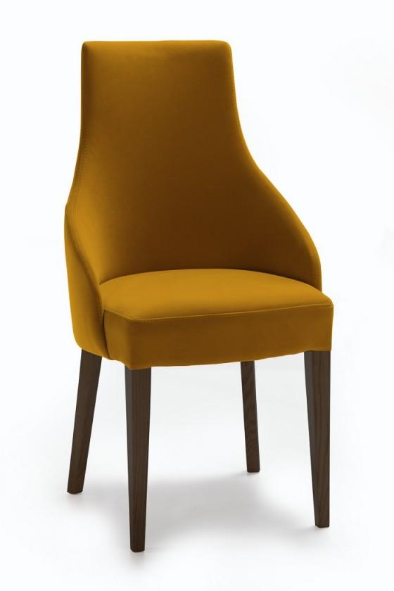 Stolička Isabela (wenge/látka navara horčicová)