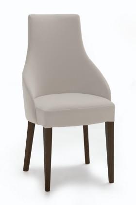 Stolička Isabela (wenge/látka navara svetlo béžová)