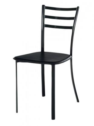 Stolička Jackie(koženka čierna/černý lesk)