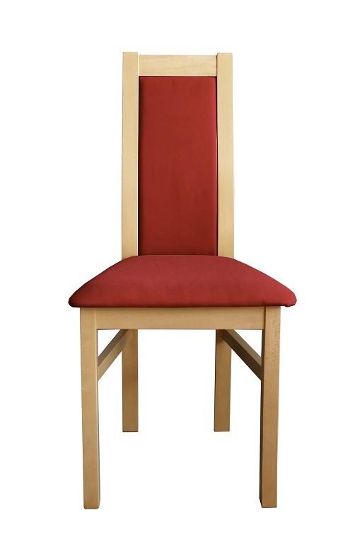 Stolička Jedálenská stolička Agáta, sonoma, bordó