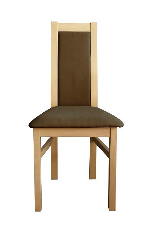 Stolička Jedálenská stolička Agáta sonoma, hnedá