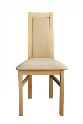 Stolička Jedálenská stolička Agáta sonoma, krémová