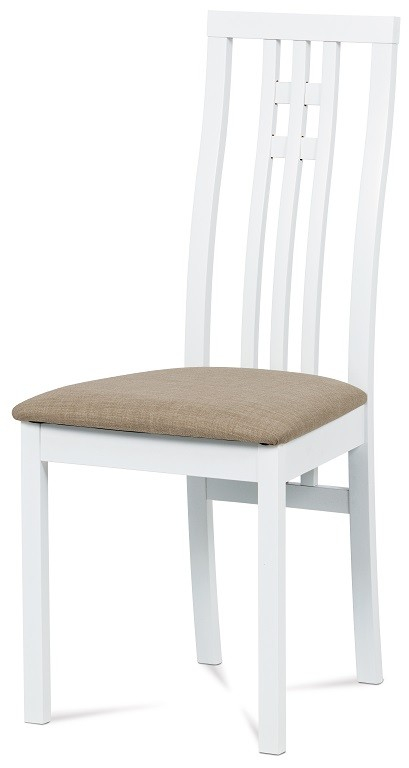 Stolička Jedálenská stolička Alora béžová, biela