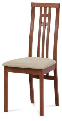 Stolička Jedálenská stolička Alora béžová, čerešňa