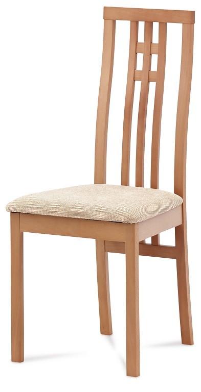 Stolička Jedálenská stolička Alora krémová, buk