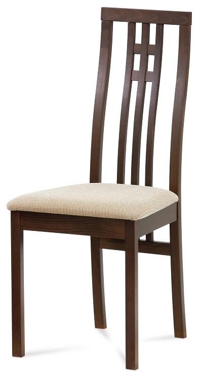 Stolička Jedálenská stolička Alora krémová, orech