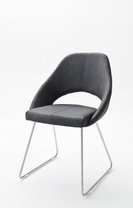 Stolička Jedálenská stolička Gertie sivá