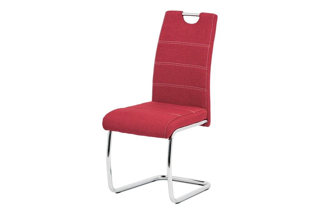 Stolička Jedálenská stolička Grove červená