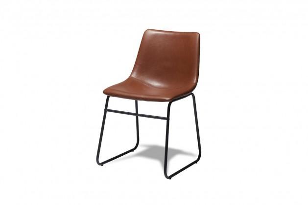 Stolička Jedálenská stolička Guaro hnedá, čierna