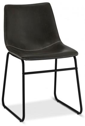 Stolička Jedálenská stolička Guaro sivá, čierna