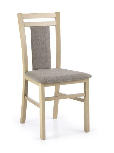 Stolička Jedálenská stolička Hubert 8 sivá, dub