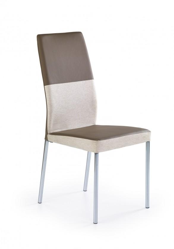 Stolička Jedálenská stolička K173 hnedá, béžová