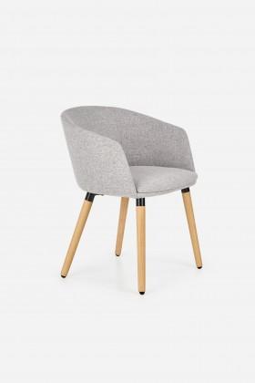 Stolička Jedálenská stolička K266 sivá