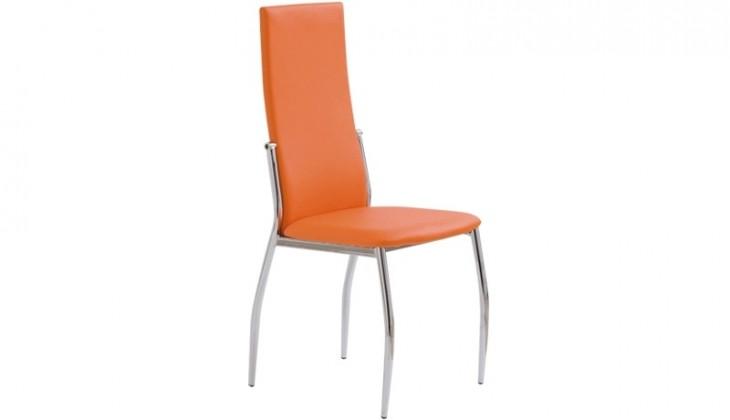 Stolička Jedálenská stolička K3 oranžová