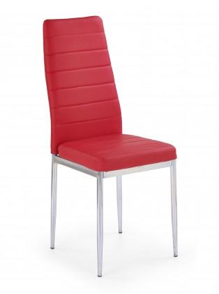 Stolička Jedálenská stolička K70C červená