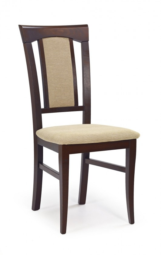 Stolička Jedálenská stolička Konrad béžová, orech