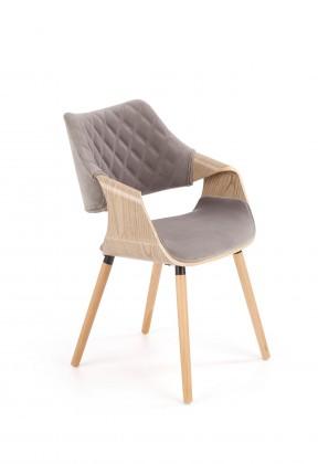 Stolička Jedálenská stolička Manza sivá